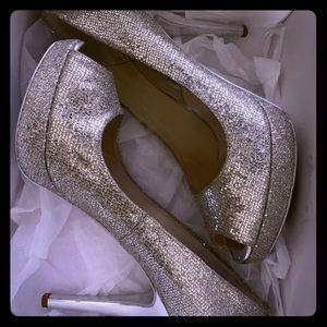 Michael Kors Platform Peep Toe Heels Gorgeous!